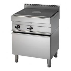 Cucina Tuttapiastra a GAS - 70x65x85h cm - su forno a gas