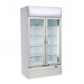 Refrigeratore Verticale Bibite - 800 Litri [+1 +10 C°] - Doppia Porta a Battente