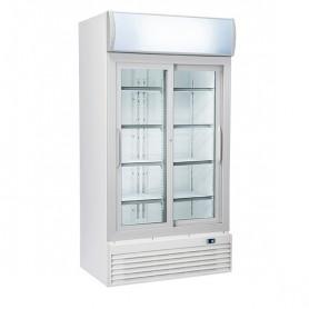 Refrigeratore Verticale Bibite - 800 Litri [+1 +10 C°] - Doppia Porta Scorrevole