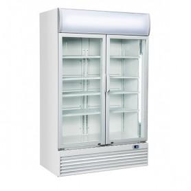 Refrigeratore Verticale Bibite - 1000 Litri [+1 +10 C°] - Doppia Porta a Battente
