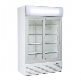 Refrigeratore Verticale Bibite - 1000 Litri [+1 +10 C°] - Doppia Porta Scorrevole