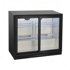 Banco Retro Bar - 201 Litri [+1 +10 C°] - Doppia Porta Scorrevole