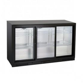 Banco Retro Bar - 320 Litri [+1 +10 C°] - Tripla Porta Scorrevole