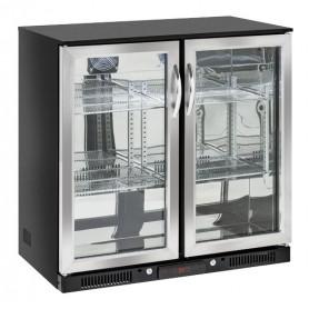 Banco Retro Bar - 228 Litri [+1 +10 C°] - Doppia Porta a Battente