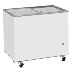 Congelatore Orizzontale a Pozzetto - Porta scorrevole a vetri - 300 Litri [-22 -12 C°]