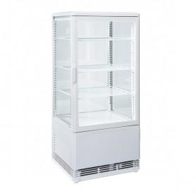 Espositore Refrigerato Verticali - 78 Litri - [+2 +12 C°] - Bianca