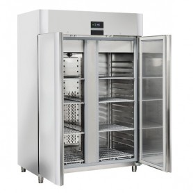 Armadio Armadio Refrigerato - Doppia Porta - Acciaio INOX - [-22 -18C°] - 1105 Litri- Doppia Porta - Acciaio INOX - [-12 -18C°]