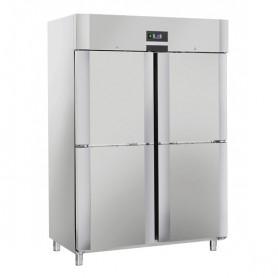 Armadio Refrigerato - Doppio Vano - Acciaio INOX - [-22 -18C°] - 1105 Litri