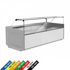 Espositore Refrigerato - Frontale Basso - 2480x1200x1191h mm - [+3 / +5 C°]