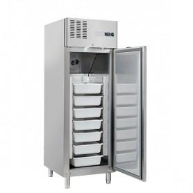 Armadio Refrigerato - Per Pesce - Acciaio INOX - [-7 +2C°] - 550 Litri