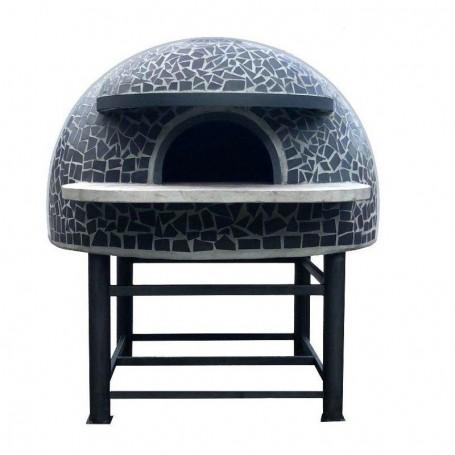 Forno a legna artigianale per pizzeria - Camera interna 130x130 cm
