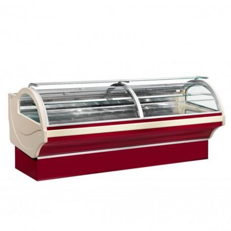 Espositore Refrigerato - Per Carne - Ventilato - Modello Fenice - Lunghezza 3680 mm