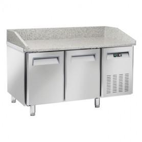 Banco Pizza Refrigerato - 1500x800x1040h mm - [+2 +8C°] - Due Porte