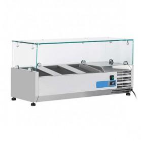 Vetrinetta Refrigerata - 1000x335x440h mm - [+2 +8C°] - 4xGN 1/4
