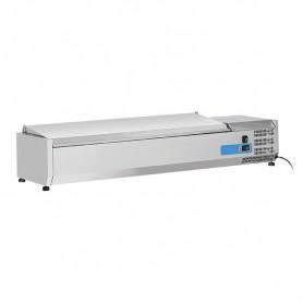 Vetrinetta Refrigerata - 1400x335x281h mm - [+2 +8C°] - 6xGN 1/4