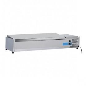 Vetrinetta Refrigerata - 1400x395x281h mm - [+2 +8C°] - 6xGN 1/3