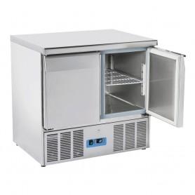 Saladette GN1/1 - 900x700x880h mm - [0 +8C°] - Due Porte