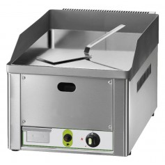 Frytop a Gas - Liscio Cromato - 4 kW