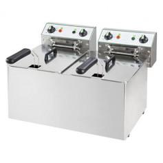 Friggitrice Elettrica - 8 + 8 Litri - 6 kW 230V