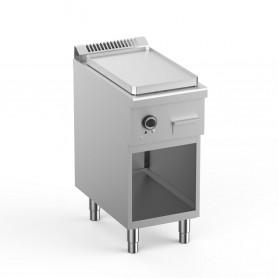 Frytop Elettrico - Piastra Liscia in Acciaio 430 - 40x71,8x85 cm - 4 KW
