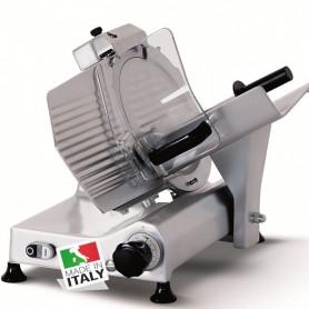 Affettatrice a Gravità - Affilatoio Fisso - Lama 300 mm - Taglio utile L x H mm 260×215