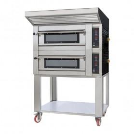 Forno per Pizzeria Elettrico - Certificato 4.0 - Modello Zaffiro - 4 Pizze da 33