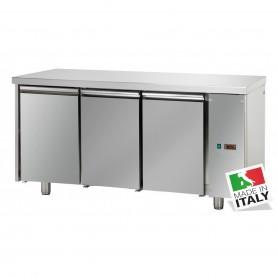 Tavolo Refrigerato - Motore Remoto - GN 1/1 - Tre Porte [0 +10 C°]
