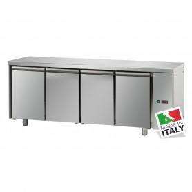 Tavolo Refrigerato - Motore Remoto - GN 1/1 - Quattro Porte [0 +10 C°]