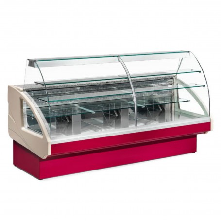 Espositore Refrigerato - Per Pasticceria - Modello Cake - Lunghezza 2200 mm