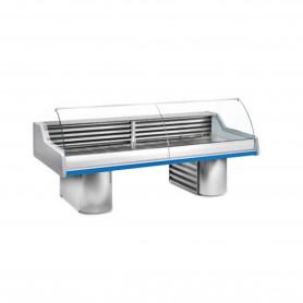 Espositore Refrigerato - Per Pesce - Modello SN SG - Lunghezza 3000 mm