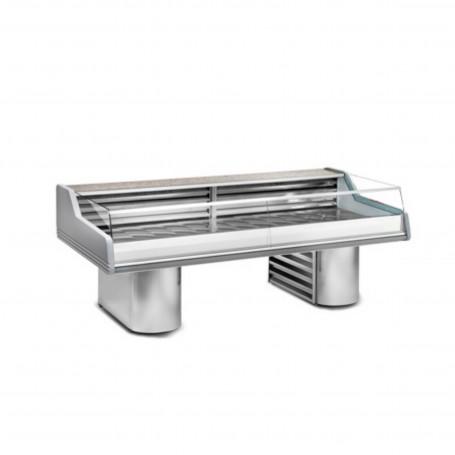 Espositore Refrigerato - Per Pesce - Modello Saigon SS - Lunghezza 2500 mm