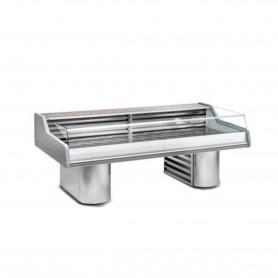 Espositore Refrigerato - Per Pesce - Modello SN SS - Lunghezza 3500 mm