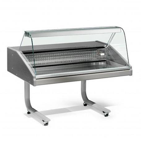 Espositore Refrigerato - Per Pesce - Modello VR2005 - Lunghezza 1000 mm