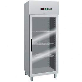 Armadio Refrigerato Ventilato - Porta a Vetro - GN2/1 [-2 +8 C°]