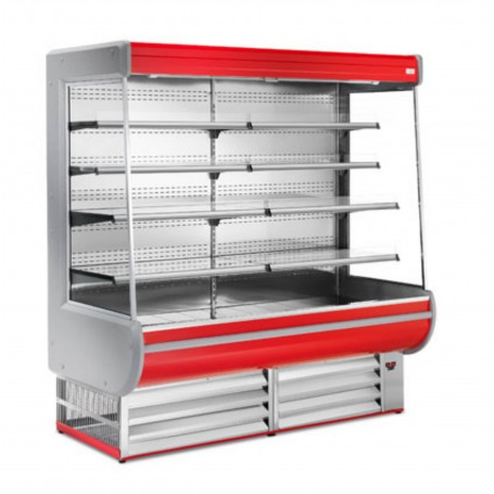 Espositore Refrigerato - Per Frutta e Verdura - Modello Expory - Lunghezza 2500 mm