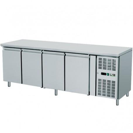 Tavolo Refrigerato Ventilato - GN 1/1 - Quattro Porte [-2 +8 C°]