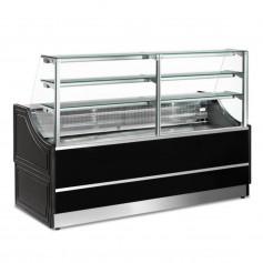 Espositore Refrigerato - Per Pasticceria - Statico CON Cella - Modello Orleans - Lunghezza 1000 mm