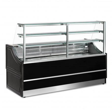 Espositore Refrigerato - Per Pasticceria - Neutro - Modello Orleans - Lunghezza 1500 mm