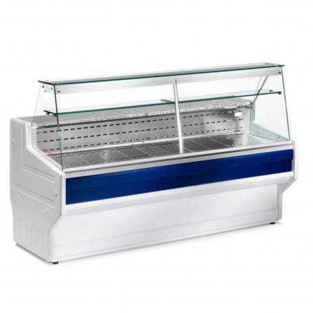 Espositore Refrigerato - Per Salumi Latticini - Modello Hill HL - Lunghezza 2000 mm