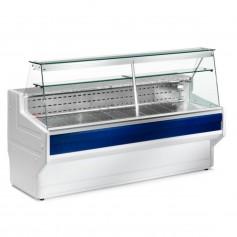 Espositore Refrigerato - Per Salumi Latticini - Modello Hill HL - Lunghezza 3000 mm