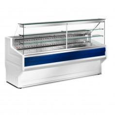 Espositore Refrigerato - Per Salumi Latticini - Modello Hill HD - Lunghezza 2500 mm