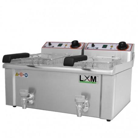 Friggitrice Elettrica - Modello FBR 7 + 7 Litri