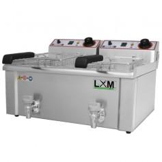 Friggitrice Elettrica - Modello FBR 9 + 9 Litri