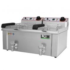 Friggitrice Elettrica - Modello FBR 13 + 13 Litri