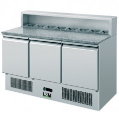 Saladette Refrigerata Statica - GN 1/1 - 8 x GN 1/6 [+2 +8 C°]