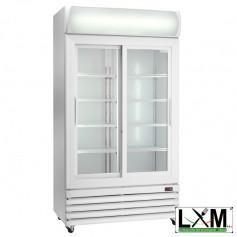 Espositore Refrigerato Ventilato - Per Bibite - Porte Scorrevoli - 825 Litri