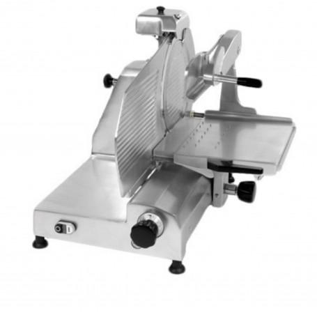 Affettatrice verticale professionale versione LUX lama da 30 cm per carne o salumi