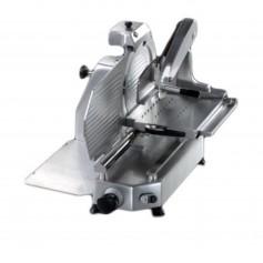 Affettatrice verticale professionale versione LUX lama da 33 cm per carne o salumi