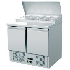Saladette Refrigerata Statica - 5 x GN 1/6 [+2 +8 C°]