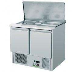 Saladette Refrigerata Statica - 2xGN1/1 + 3xGN1/6 - [+2 +8 C°]